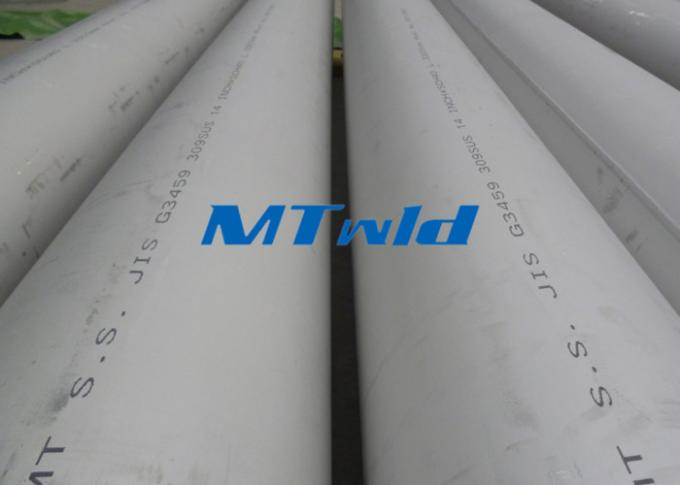 Stainless Double Welded Steel Pipe Class 1 ASTM A358 5.80mm - 2032mm Outer Diameter