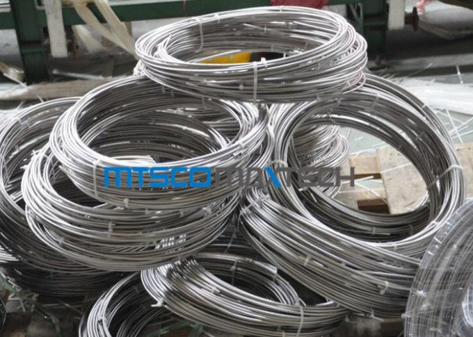 S31600 / S31603 6.35mm Stainless Steel Coil pipe Seamless Stainless Tube