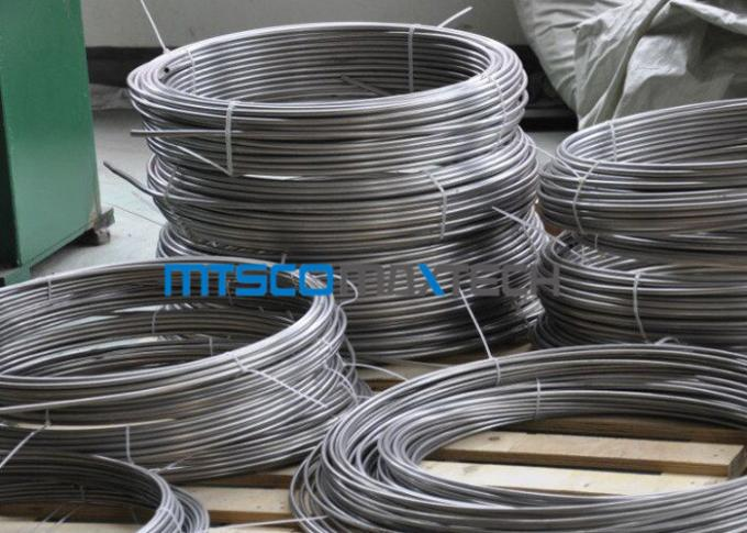 Chemical Industry Duplex Steel Tube Coiled Pipe S31803 ASTM A789 / A790