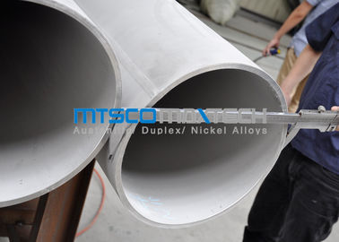 ประเทศจีน ASTM A358 / ASME SA358 Stainless Steel Double Weled Pipe TP321 / 321H Annealed & Pickled โรงงาน