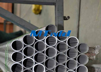 ประเทศจีน Welded ERW Stainless Steel Tubing ASTM A789 / SA789 Welding Round Tube 300 Series ผู้ผลิต