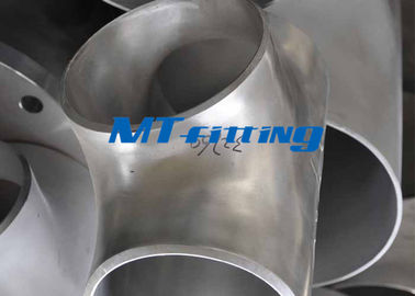 UNS S31803 / S32750 Duplex Steel Equal & Reducing Tee Pipe Fittings for Boiler