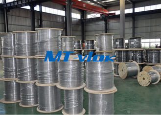 ประเทศจีน 1 / 8 Inch Super Long Coiled Stainless Steel Tubing Bright Annealing Surface ผู้ผลิต
