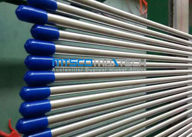 ประเทศจีน 3 / 8 Inch TP316L / 316Ti Stainless Steel Hydualic Tubing With Bright Annealed Surface โรงงาน