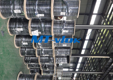 ประเทศจีน Welded Super Long Multi core Stainless Steel Coiled Tubing For Marine โรงงาน