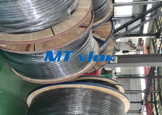 ประเทศจีน 1 / 2 Inch Sch10s Stainless Steel Coiled Tubing Bright Annealed / Pickled Surface โรงงาน