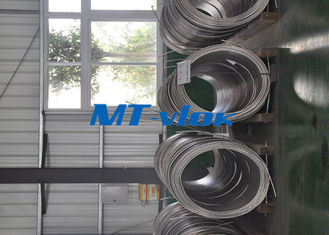 ประเทศจีน ASTM A213 / A269 S30400 / S31600 Stainless Steel Coiled Tubing / Stainless Steel Coil Pipe โรงงาน
