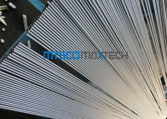 ประเทศจีน 18BWG TP347 / 347H Bright Annealed Tube , Cold Drawn Seamless Steel Tube โรงงาน