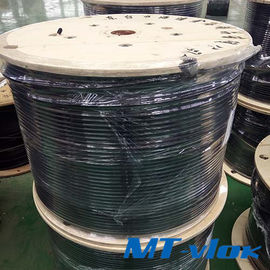 ประเทศจีน TP304 / 304L Welded Stainless Steel Coiled Tubing For Multi - Core Tube โรงงาน