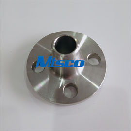 ประเทศจีน 300LB S31803 / S32750 / S32760 Duplex Steel Weld Neck Flange For Connection โรงงาน