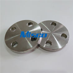 ASTM A182 F51 / F53 Flanges Pipe Fittings , Duplex Steel Blind Flange For Hydraulic Tube