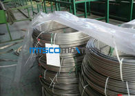 ASTM A213 Stainless Steel Coiled Tubing 1.4404 / 1.4306 / 1.4407 For Gas Industry