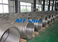 TP304L / 1.4306 Small Diameter Stainless Steel Coiled Tubing For Cable Industry ผู้ผลิต