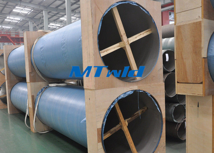 ประเทศจีน Austenitic Stainless Steel Tubing TP304L / 316L Welding Stainless Steel Pipe โรงงาน
