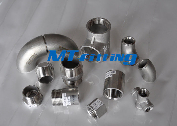 ASME / ANSI B16.9 F51 / F53 S31803 / S32750 Duplex Steel Concentic Reducer Pipe Fitting ผู้ผลิต
