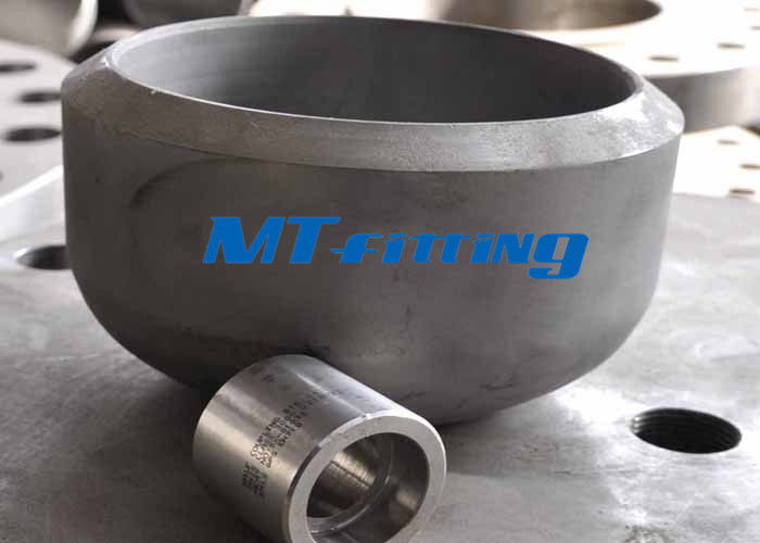 ประเทศจีน ASME / ANSI B16.5 Stainless Steel Cap , Butt Welded Stainless Steel Pipe Fitting โรงงาน