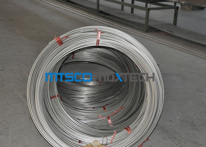 S31700 / TP317 12.7mm Seamless Coiled Stainless Tube For Hater Tubing Line ผู้ผลิต