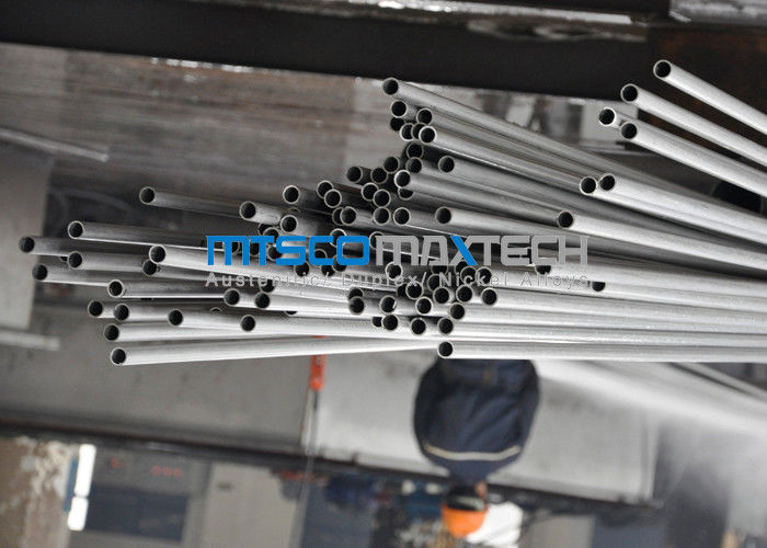 ASTM A789 SAF2205 / 2507 Duplex Steel Tube With Bright Annealed Surface ผู้ผลิต
