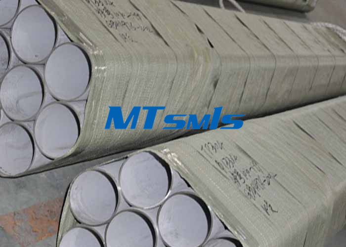 ประเทศจีน Annealed & Pickled seamless stainless steel tubing DN200 Sch40 S31603 / S30403 โรงงาน