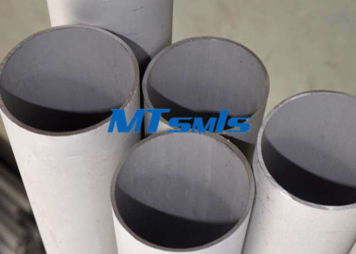 ประเทศจีน ASTM A312 / ASME SA312 Seamless Stainless Steel Tube For Chemical Industry โรงงาน