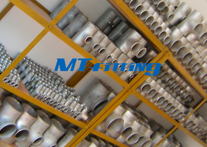 ASTM A815 S32750 / SAF 2507 Flanges Pipe Fittings , Duplex Steel Equal Tee Pipe Fitting For Connection ผู้ผลิต