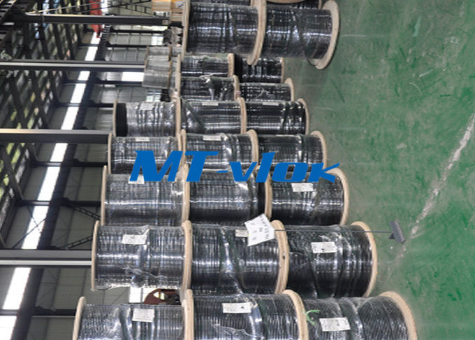 ASTM A213 TP309S / 310S stainless steel coil pipe , stainless coil tubing